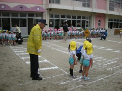 幼稚園安全教室
