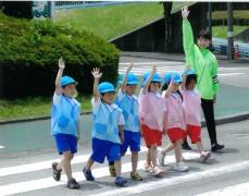 平成28年6月8日(水)今治市 唐子幼稚園交通安全教室