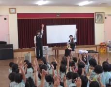 平成28年8月26日(金) 北条幼稚園 交通安全教室