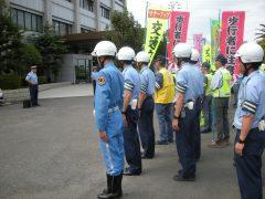 出動式 2019年9月20日 四国中央警察署