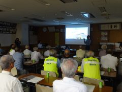 高齢者講習会 2019年9月25日 西条警察署